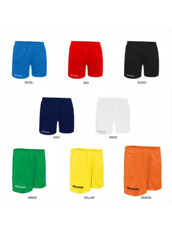 Givova One Training/Match Soccer Shorts