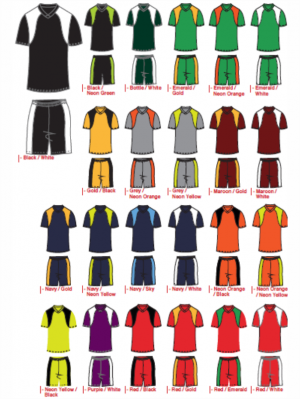 Locally Manufactured Soccer Kit - Liverpool Design