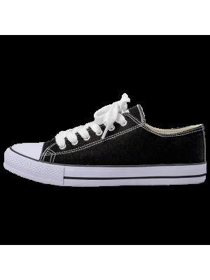 Canvas Lace Up Shoe