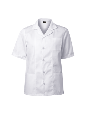 Short Sleeve Laboratory Coat
